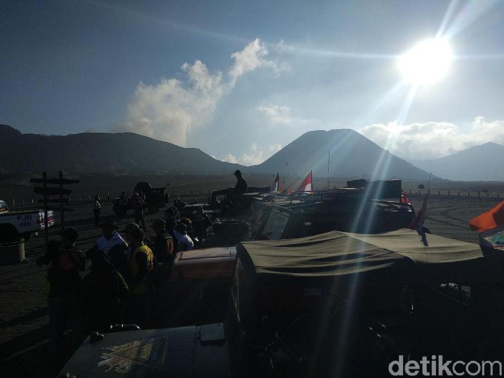 Libur Natal-Tahun Baru, Turis Bromo Tembus 14.450 Orang
