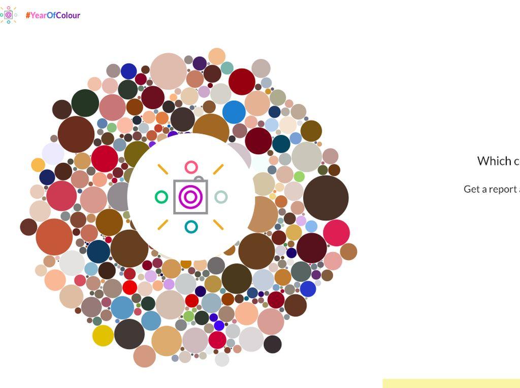 Warnai Instagram Kamu dengan Mosaik Cantik Year of Colour