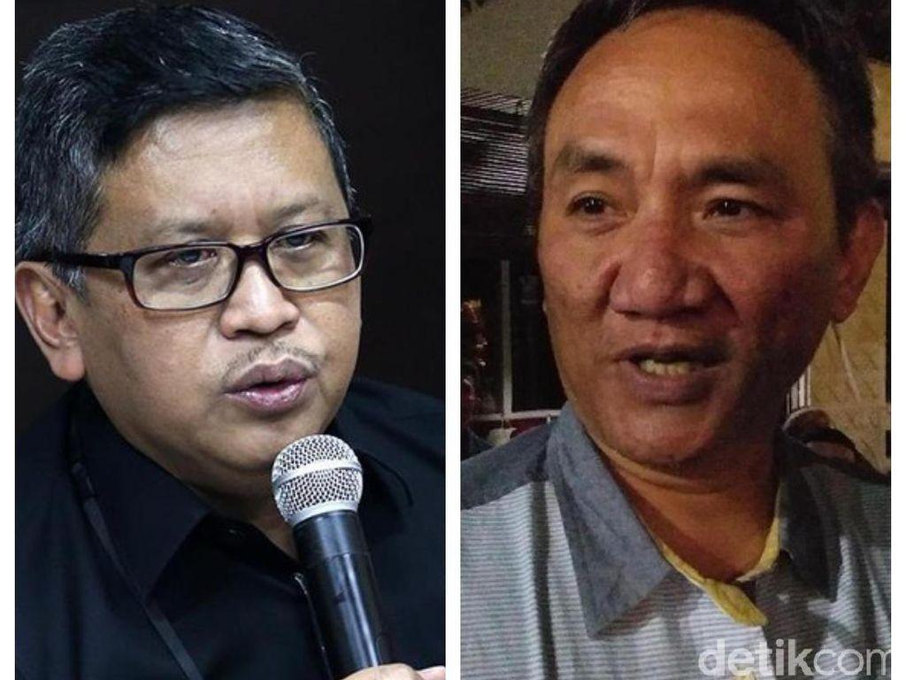 Jejak Andi Arief Vs Hasto: Dari Faksi Setan hingga Koalisi 2024