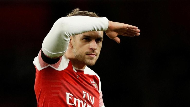 Ramsey Dikabarkan Sudah Pesan Tiket ke Turin