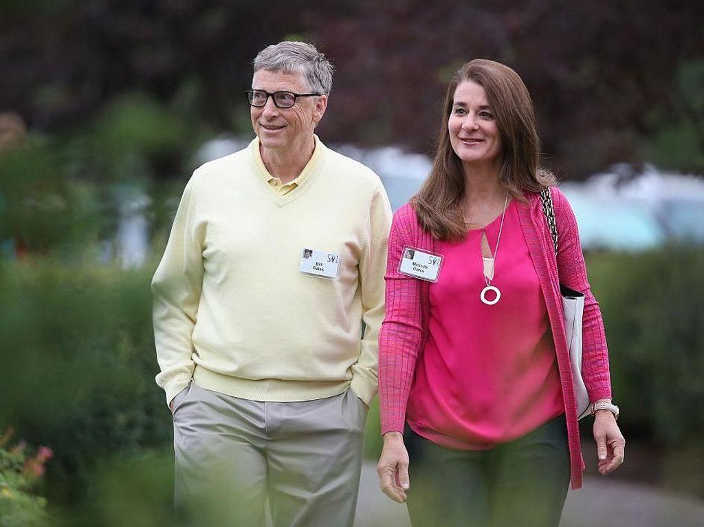 Harta Gono Gini Bill Gates dan Melinda Gates yang Fantastis!
