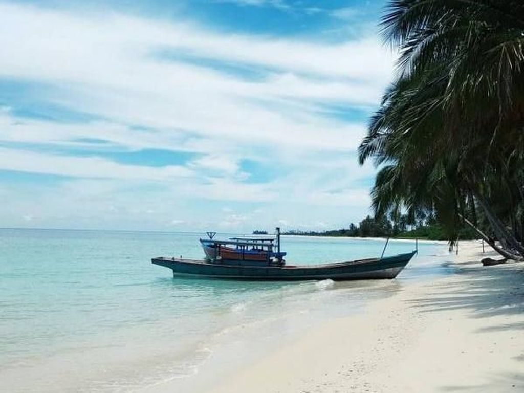 Satu Lagi Bukti Kemesraan Indonesia dan Uni Emirat Arab di Pulau Aceh