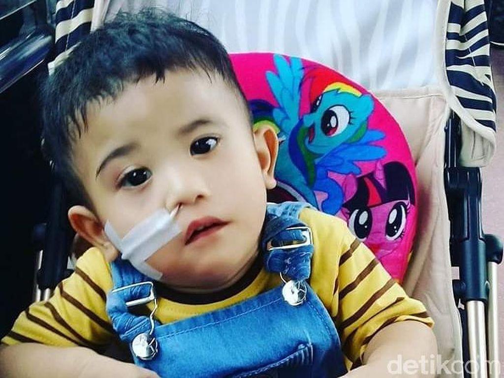 Semangat Adelio, Bocah Pengidap Poland Syndrome Pertama di Indonesia