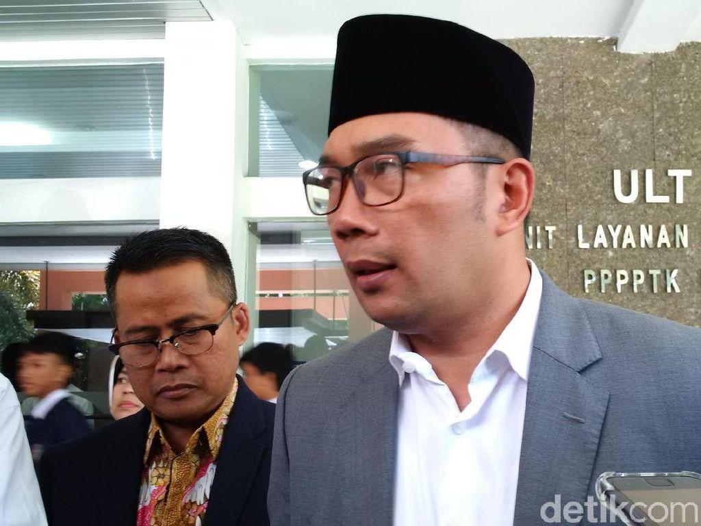Hari Pertama Puasa, Ridwan Kamil Langsung Bahas Persiapan Mudik
