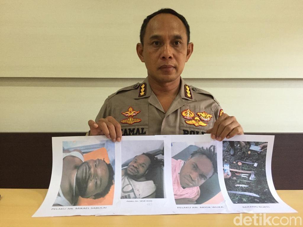 3 Begal Sadis yang Bunuh Pendeta di Wamena Ditembak Polisi