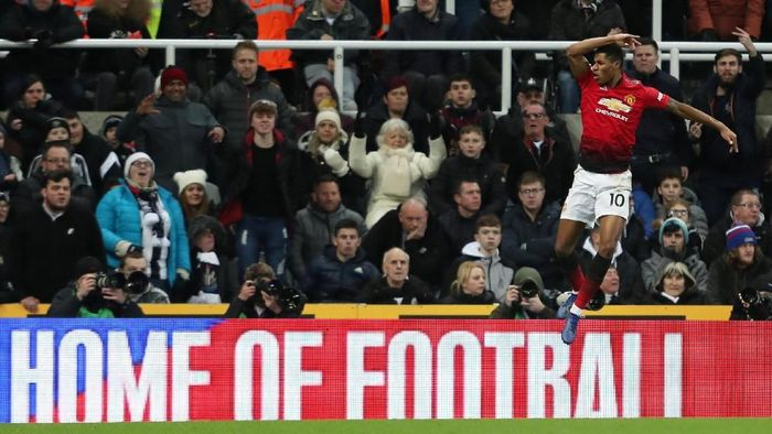 Striker muda Manchester United, Marcus Rashford. (Foto: Lee Smith/Actions Images via Reuters)