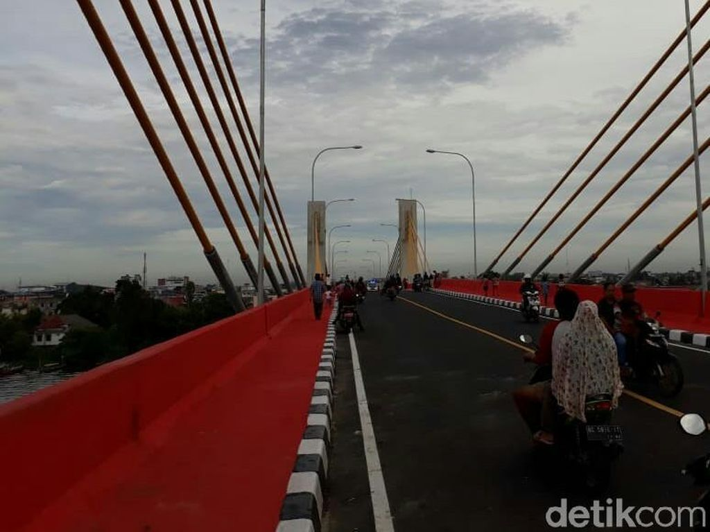 Penantian 4 Tahun, Jembatan Musi IV Palembang Akhirnya Dibuka