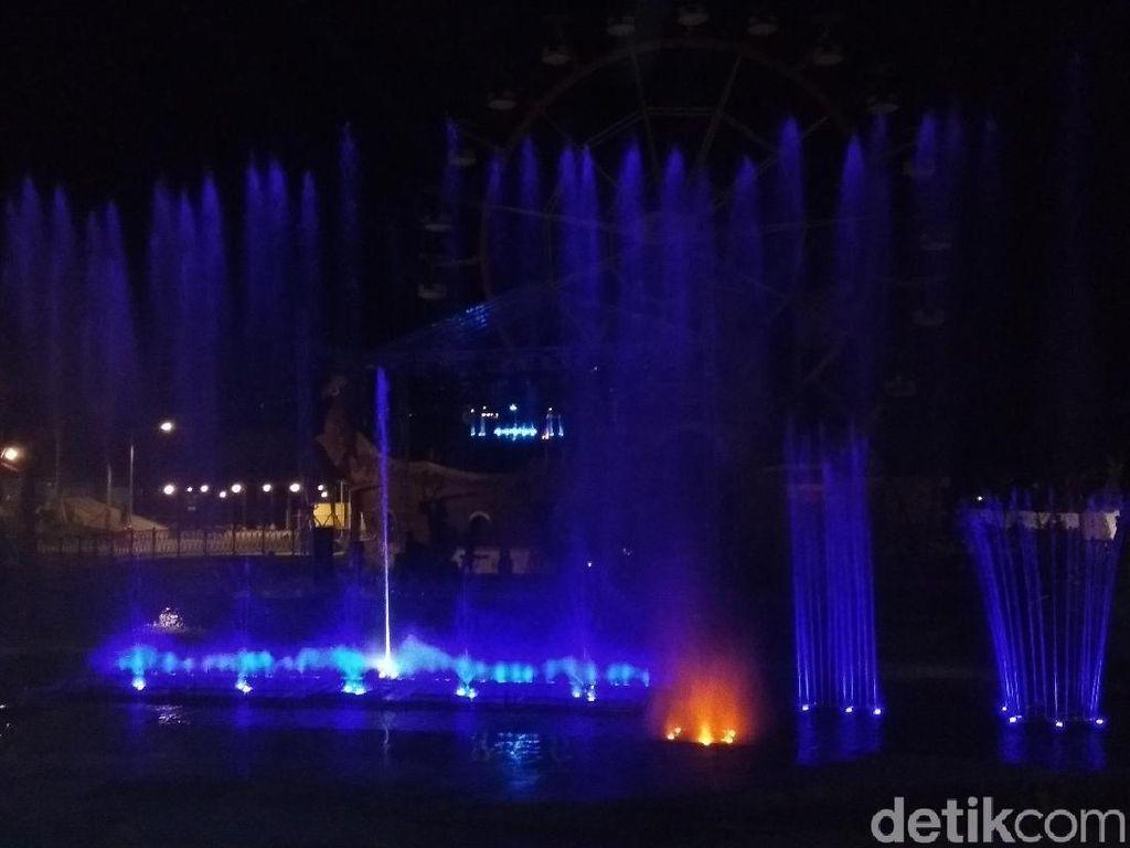 Intip Lagi Air Mancur Jejogetan di Semarang