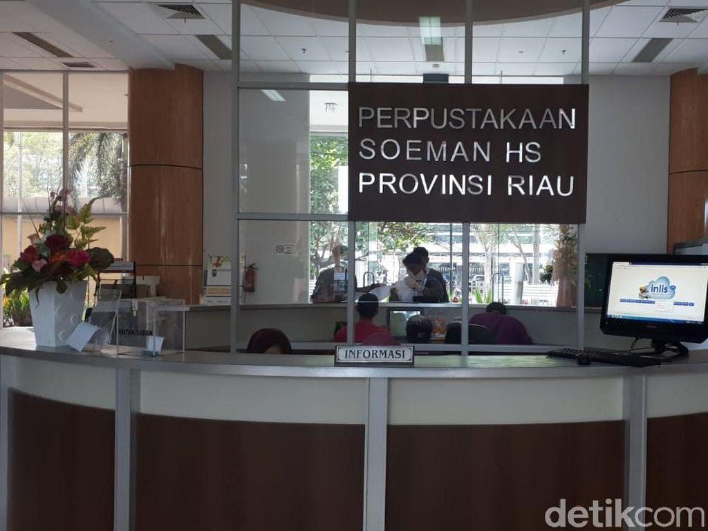 Tumbuhkan Minat Baca, Perpustakaan di Pekanbaru Sediakan Pendongeng