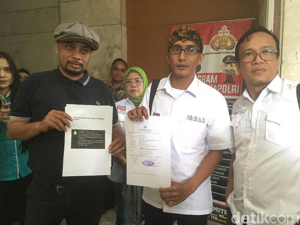 Jokowi Mania Polisikan Tengku Zul soal Cuitan Surat Suara Tercoblos