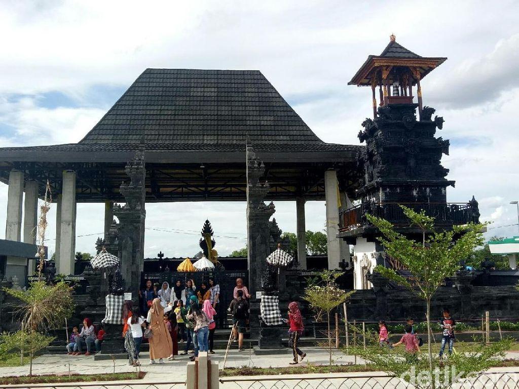 Foto: Bukan di Bali, Ini di Palembang