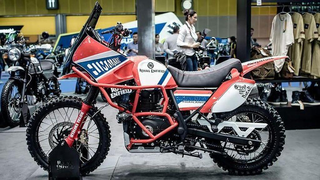 Royal Enfield Himalayan Buat Rally Dakar