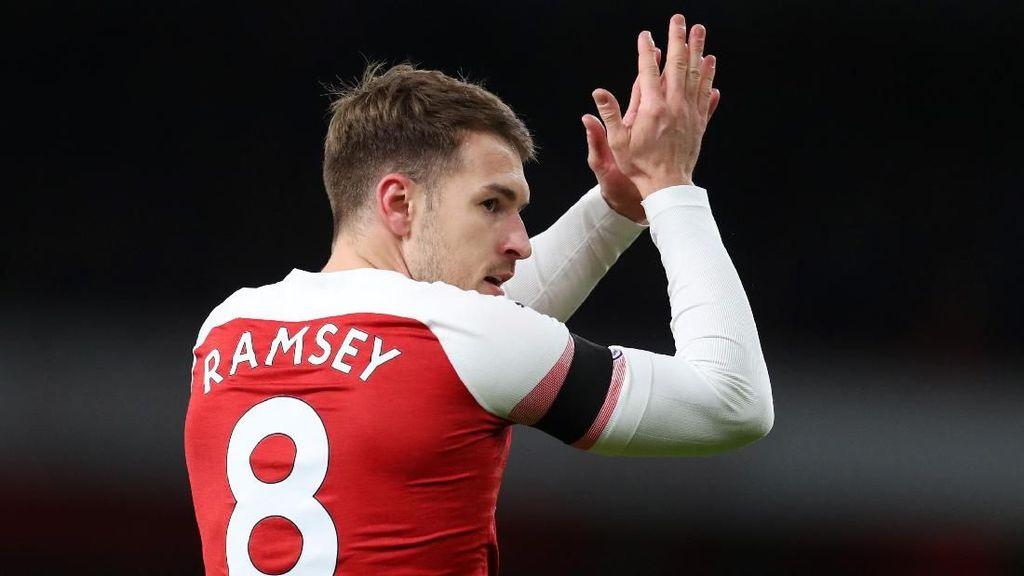 Gol-gol Ciamik Ramsey yang Tengah Ditaksir Juventus