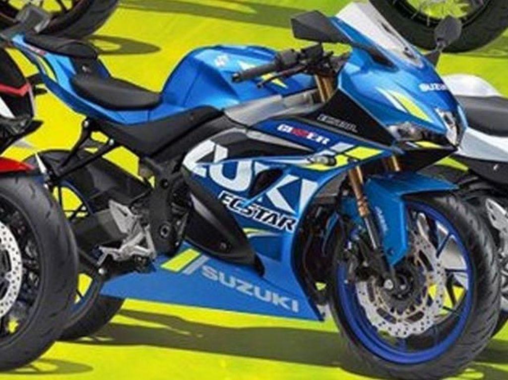 Beginikah Tampilan Motor Sport Pesaing CBR250RR dkk dari Suzuki?