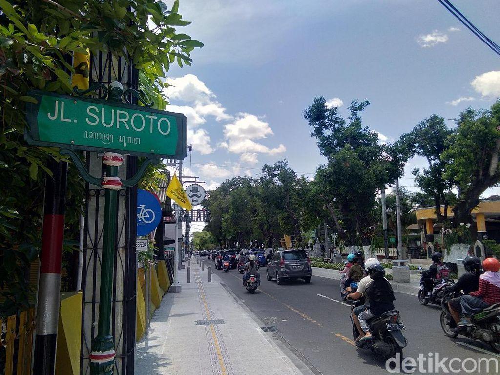 Pencurian Guiding Block di Pedestrian Yogya Dilaporkan ke Polisi