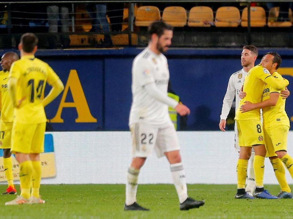 Gagal Menang, Salah Madrid Sendiri Buang-buang Peluang