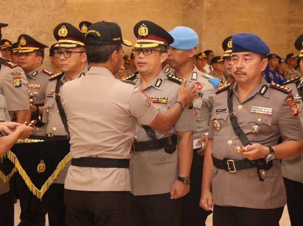 Irjen Idham Azis Lantik 7 Pejabat Baru Polda Metro Jaya