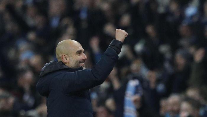 Manajer Manchester City Pep Guardiola. (Foto: Phil Noble/Reuters)
