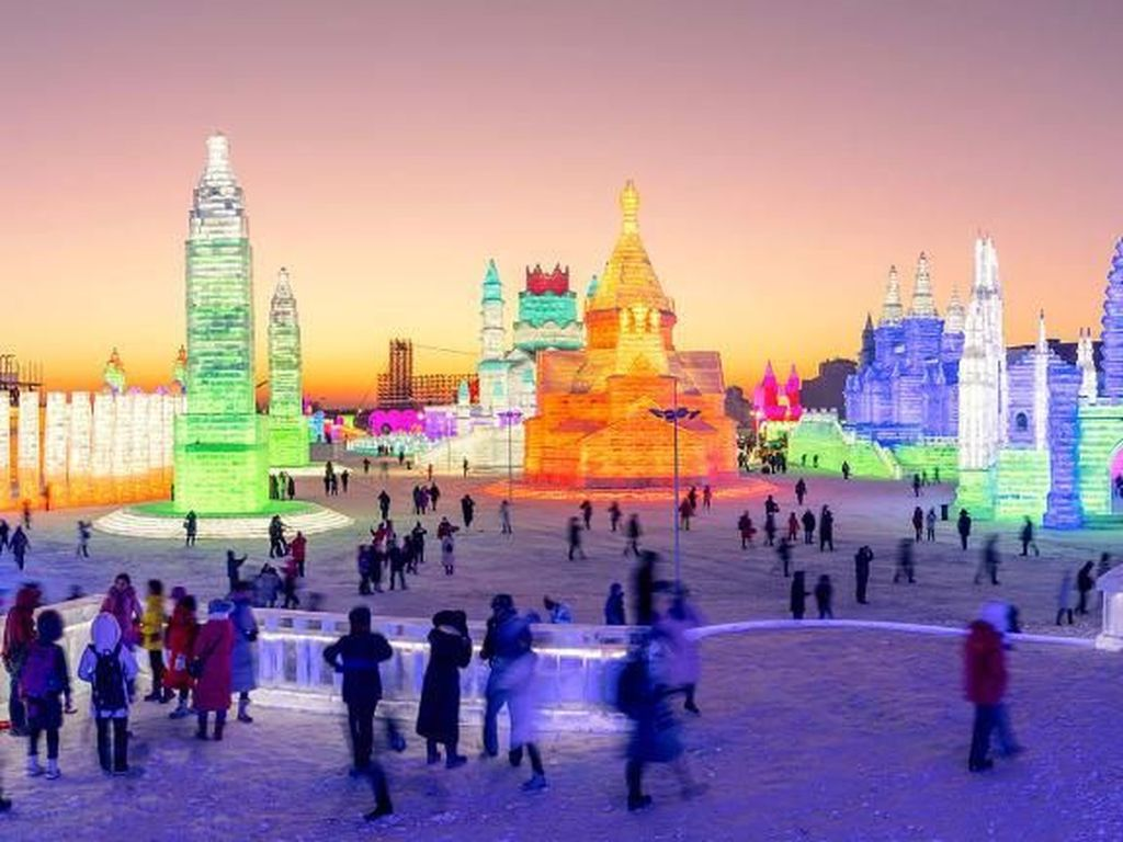 Festival Kerajaan Es Terbesar Sedunia akan Dibuka