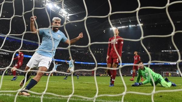 Hasil Liga Inggris: Menang 2-1, City Beri Liverpool Kekalahan Perdana