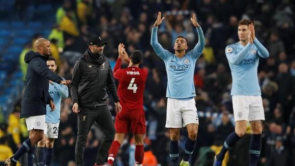 City Taklukkan Liverpool, Persaingan Liga Inggris Kembali Terbuka
