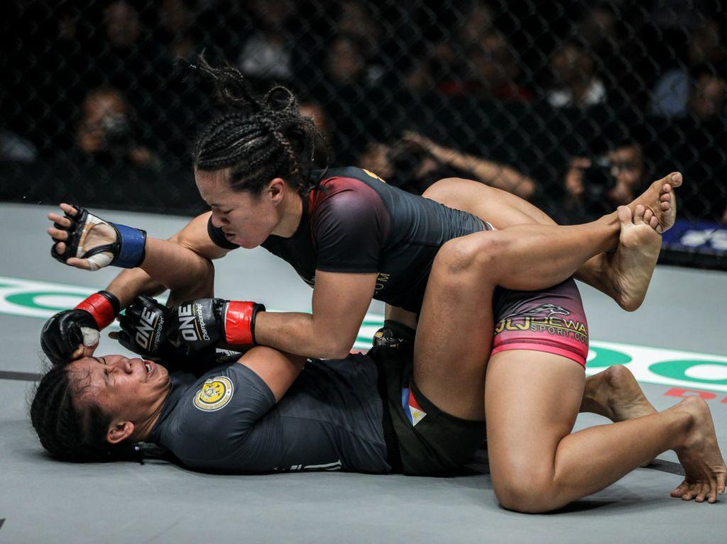 ONE Championship: Priscilla Lumban Gaol Tak Mau Kecewakan Publik Istora