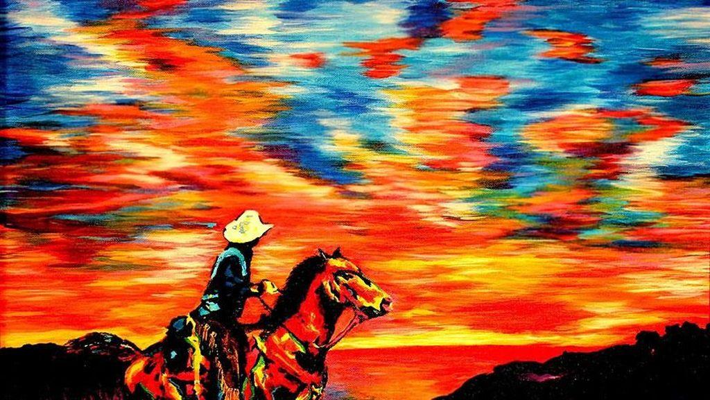 Karya Hebat dari Pelukis Tunanetra yang Mengagumkan