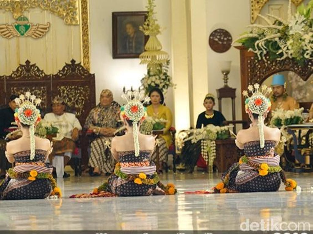 Ganjar Pranowo Mengaku Terpesona Tarian Dhaup Ageng Pakualaman