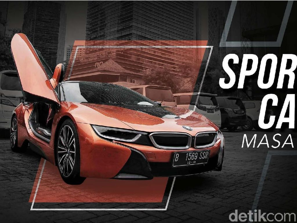 Review BMW i8 Roadster: Sportcar Hybrid Pertama