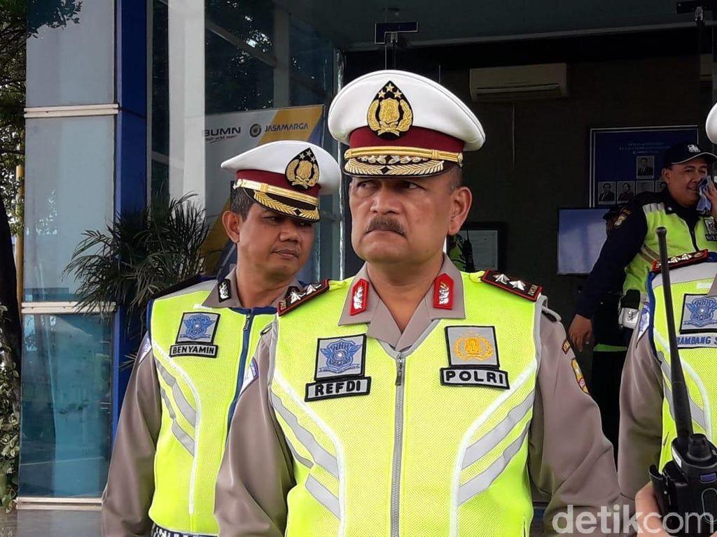 Pantau Arus Balik, Kakorlantas: 26 Ribu Kendaraan Menuju Jakarta