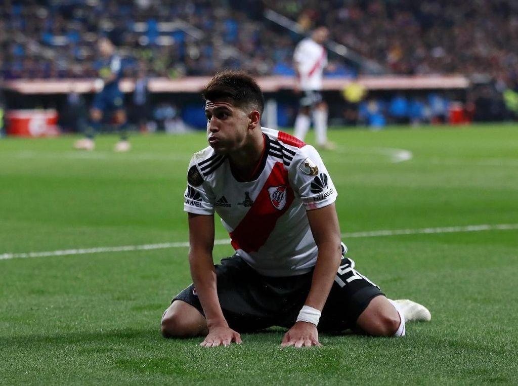 Real Madrid Selangkah Lebih Dekat dengan Gelandang Muda River Plate
