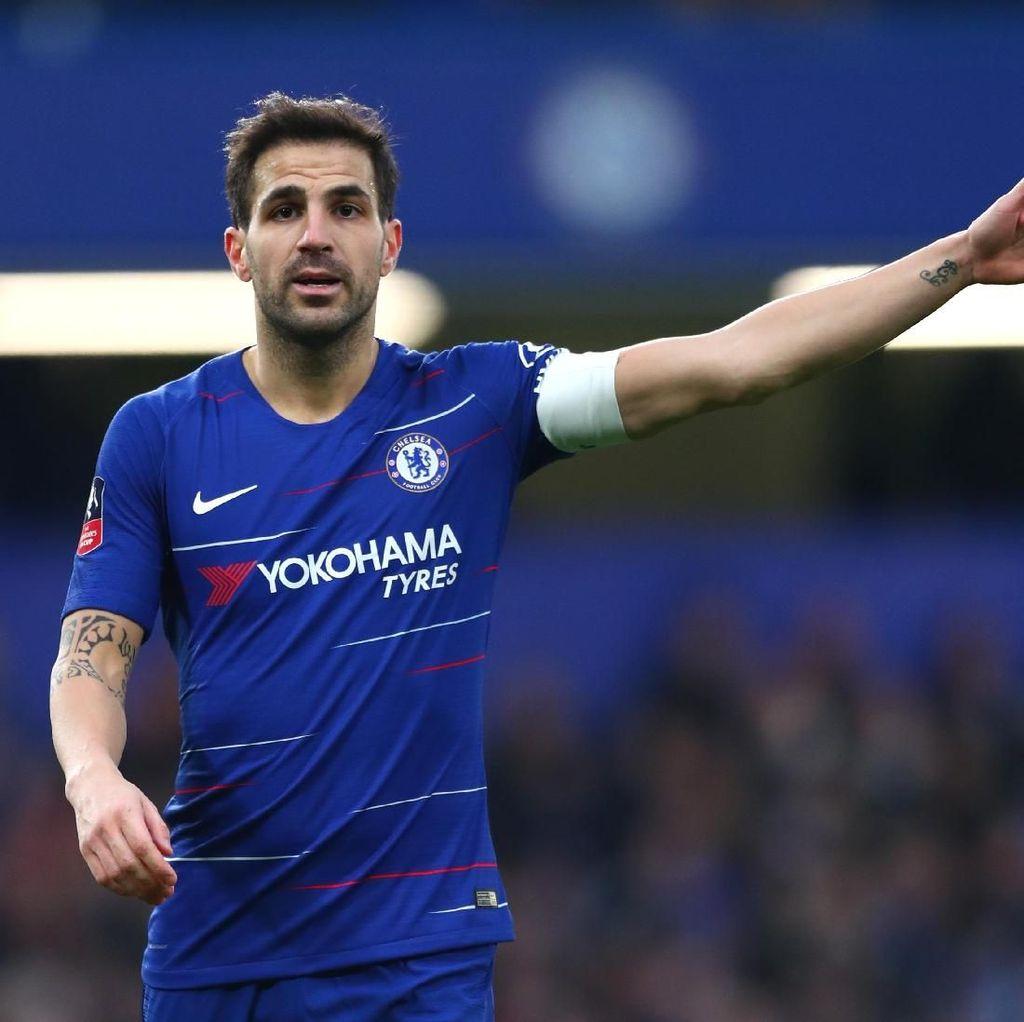Fabregas Resmi Tinggalkan Chelsea dan Gabung AS Monaco