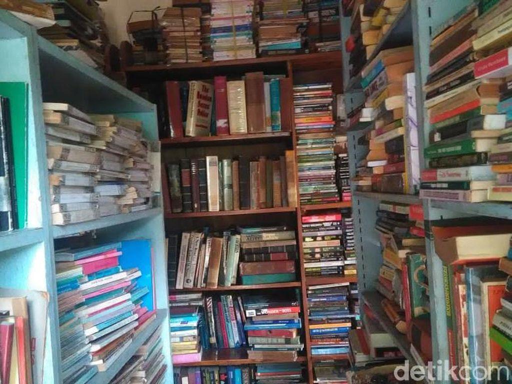 Penjual Buku Langka dan Tua Tak Terpengaruh Toko Online