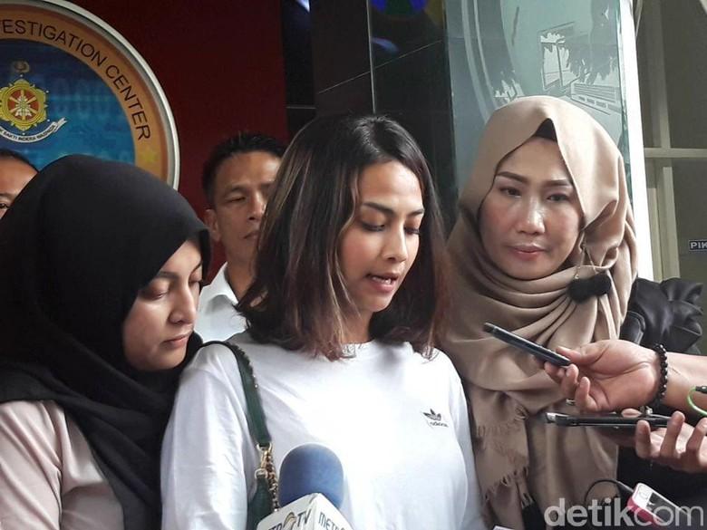Diperiksa 25 Jam, Vanessa Angel Minta Maaf Sudah Bikin Gaduh