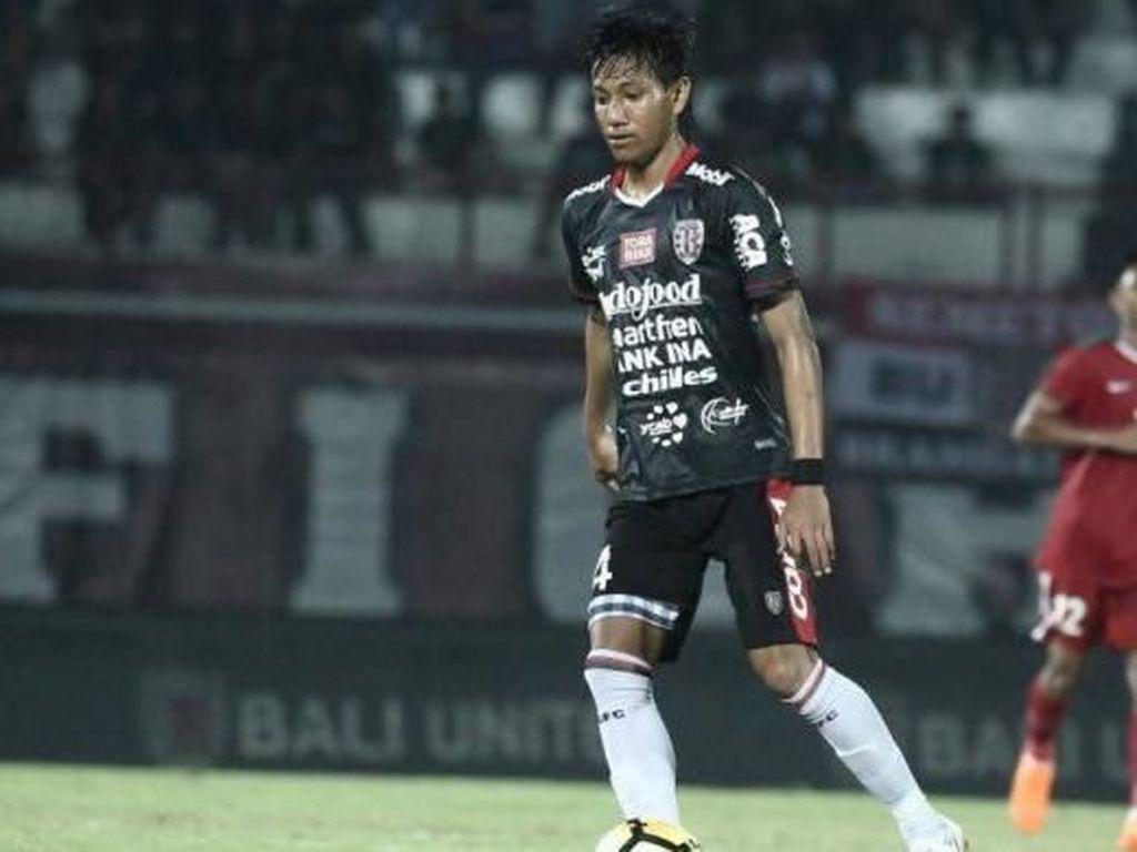 Reuni Syaiful Indra Cahya dengan Bali United di Piala Presiden