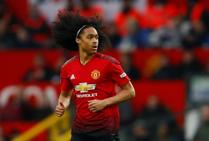 Soccer Football - FA Cup Third Round - Manchester United v Reading - Old Trafford, Manchester, Britain - January 5, 2019  Manchester Uniteds Tahith Chong in action  Action Images via Reuters/Jason Cairnduff