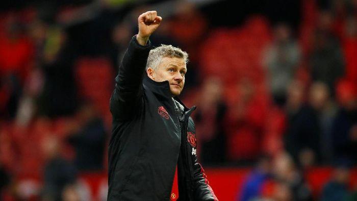 Usai membawa Manchester United menang di lima laga beruntun, Ole Gunnar Solskjaer akan menghadapi ujian dari Tottenham Hotspur (Foto: Jason Cairnduff/Action Images via Reuters)