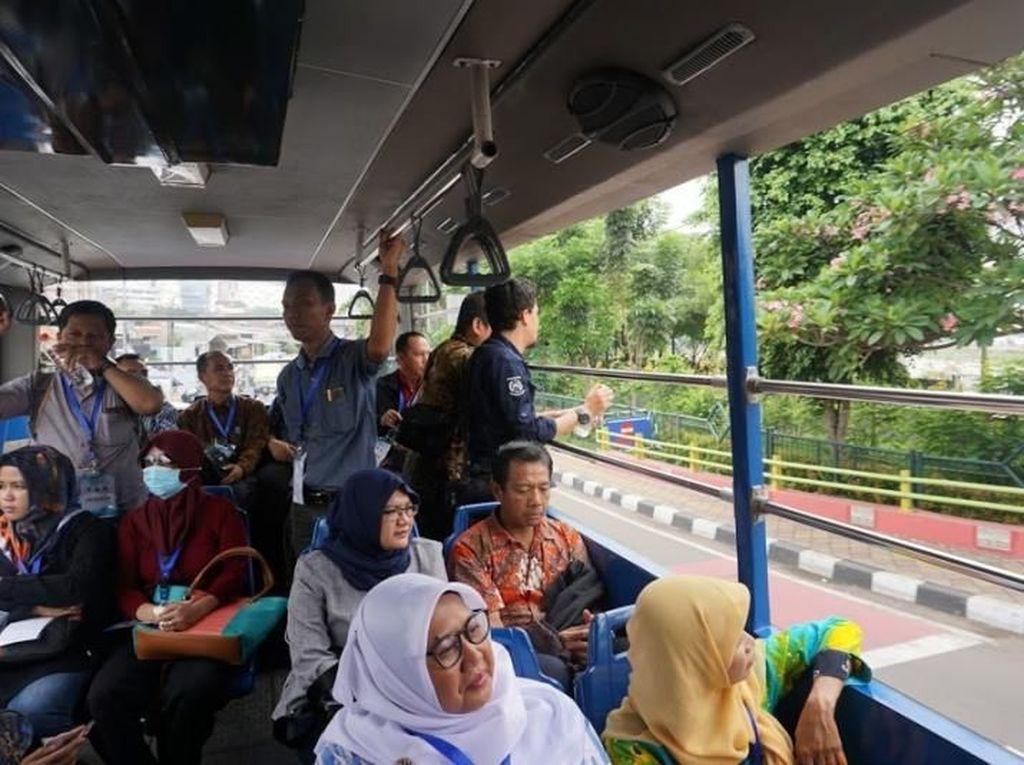 Keliling Tangerang Gratis Naik Bus Wisata