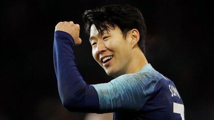 Son Heung-min bakal absen dari Tottenham Hotspur karena tampil di Piala Asia 2019. (Foto: Carl Recine/Action Images via Reuters)