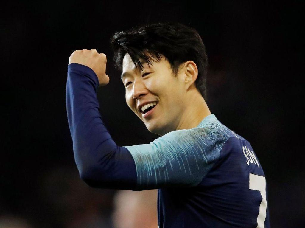 Son Heung-min Pemain Asia Tersubur di Liga Champions