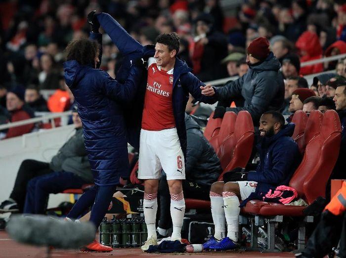 Pemain belakang Arsenal, Laurent Koscielny. (Foto: Marc Atkins/Getty Images)