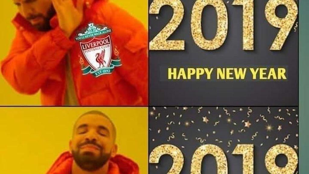 Bualan New Year New Me dalam Meme Kocak