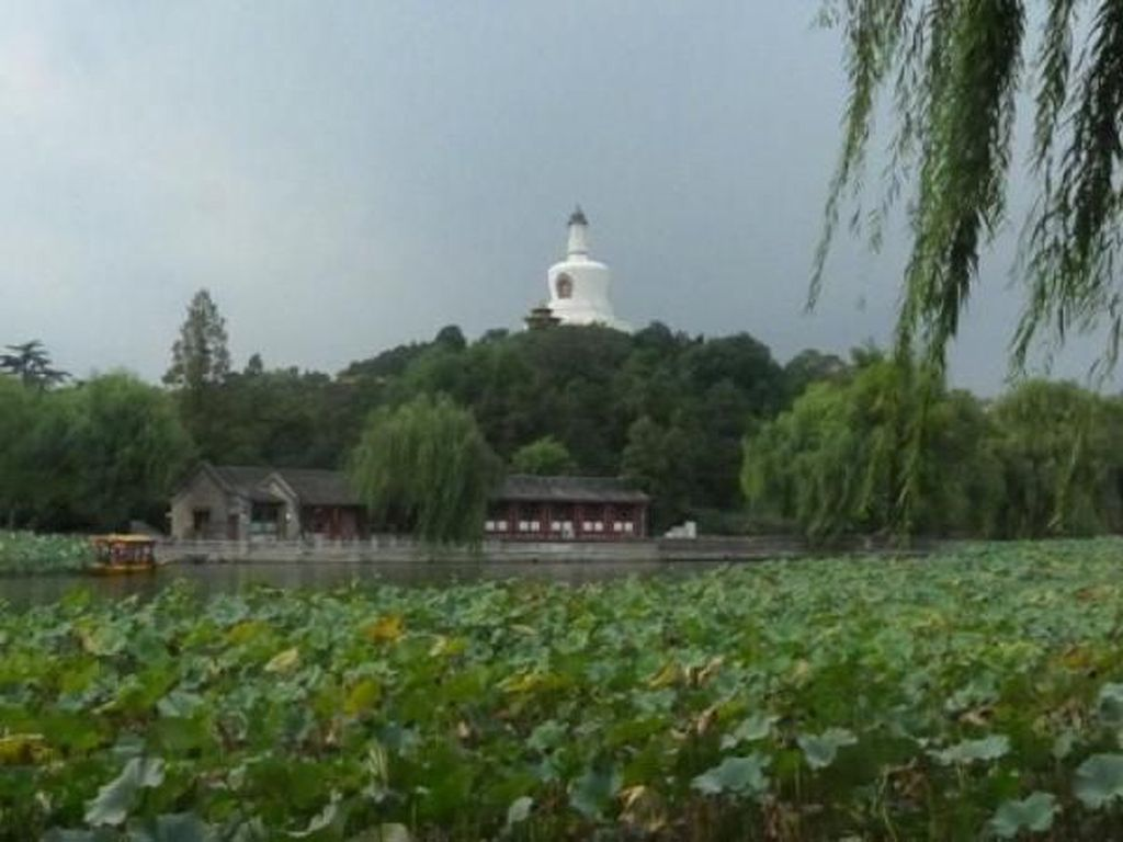 Ini Taman Cantik di Pusat Beijing