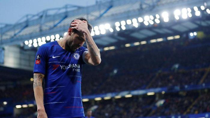 Cesc Fabregas harus pisah jalan dengan Chelsea (Eddie Keogh/REUTERS)