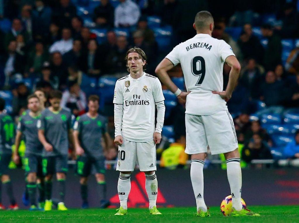 Modric: Di 2015 Madrid Juga Terpuruk, tapi Setelahnya...