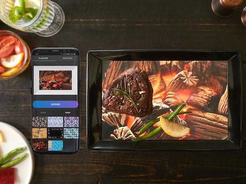Canggih! Piring Digital Ini Memuat Grafis yang Bikin Nafsu Makan Naik
