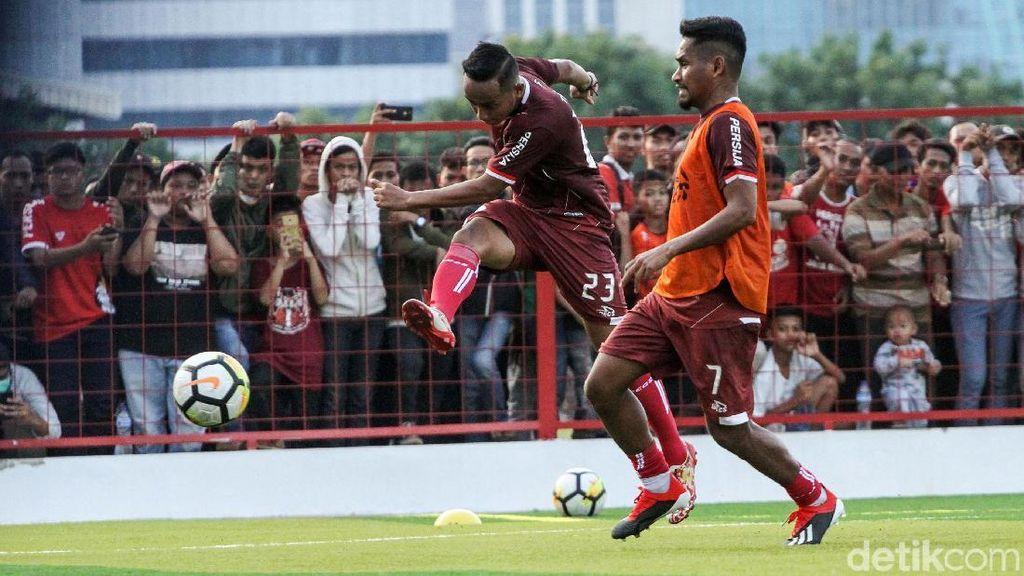 Usai Juara, Persija Berlatih di Lapangan Baru