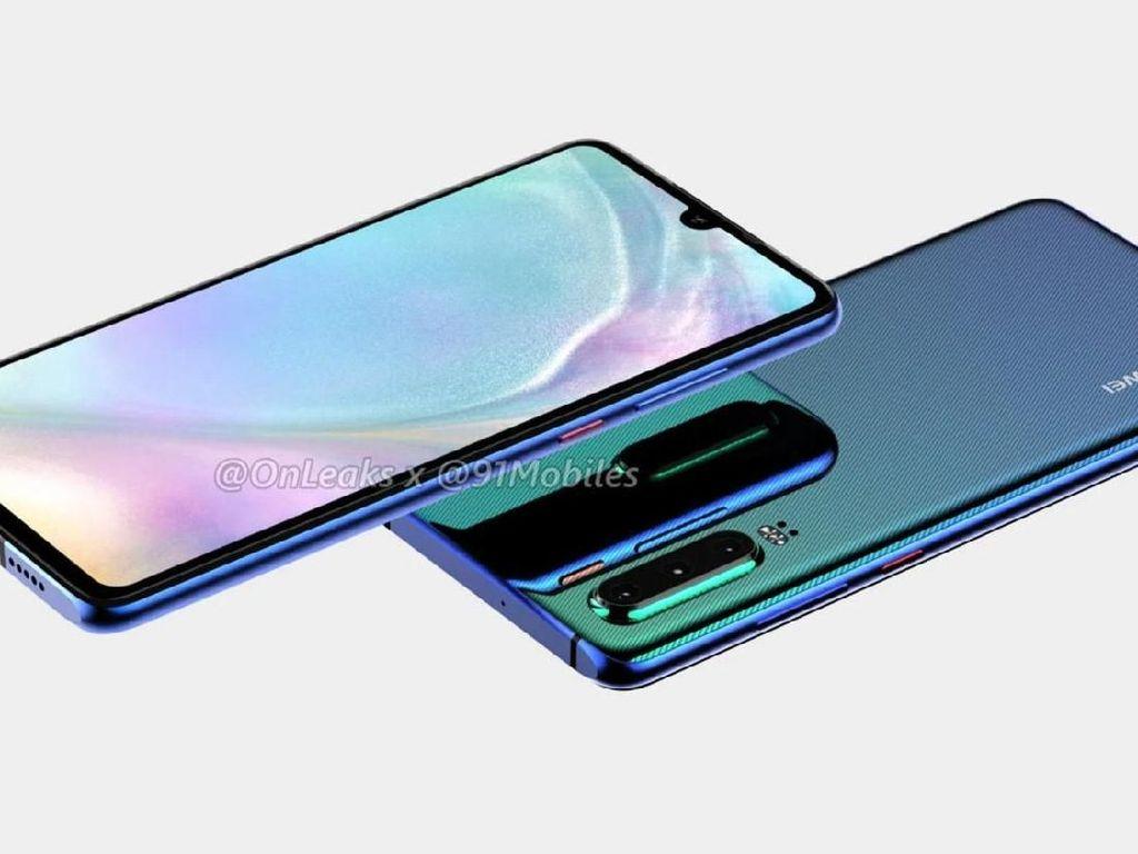 Huawei P30 Lite Pakai Layar 1080p+, Punya 3 Kamera