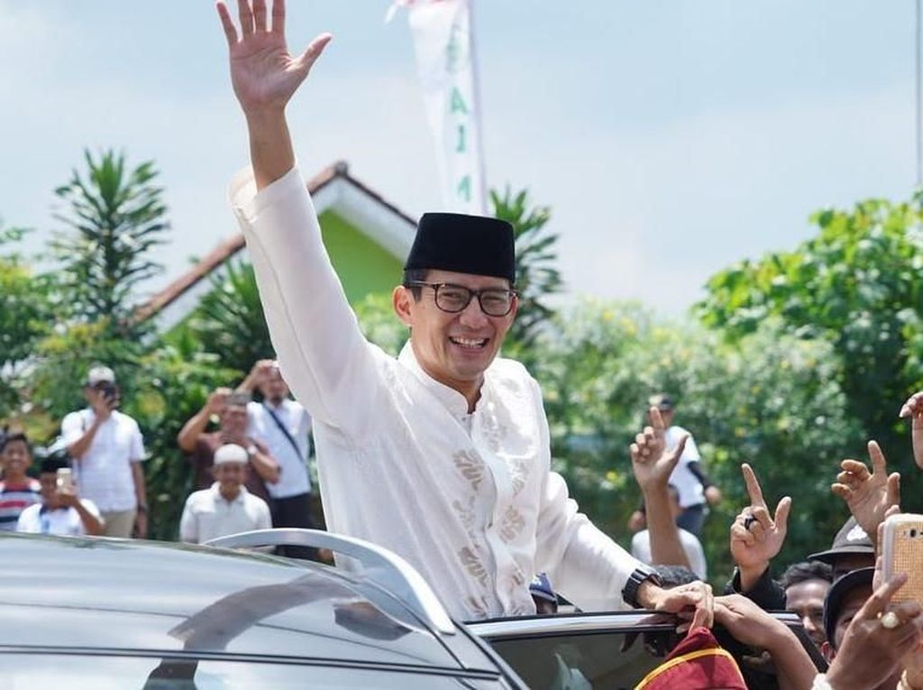 Foto: Rangkaian Aksi Sandi di Banten Hingga Titik Kampanye ke-1000