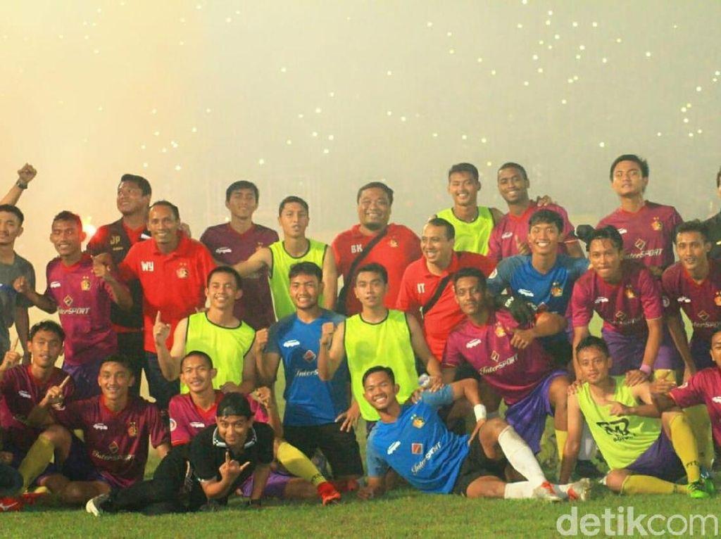Usai Rayakan Juara Liga 3, Skuat Persik Kediri Dibubarkan